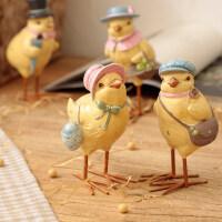 御目 摆件 可爱客厅家居装饰品办公桌摆件儿童房小鸡摆设工艺品女生生日礼物礼品 创意家饰