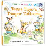 (精装)幼儿园里的26个开心果:总爱发脾气 Animal Antics A to Z : Tessa Tiger's