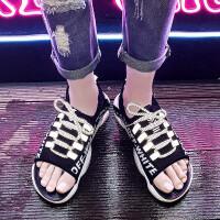 夏季时尚男士凉拖鞋男潮流韩版室外个性沙滩鞋男2019新款休闲凉鞋男夏外穿