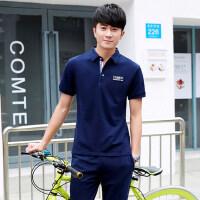 男士运动套装短袖长裤运动服套装男装时尚青年运动衣卫衣