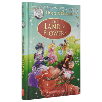 Thea Stilton The Land Of Flowers 女老鼠记者冒险章节小说 英文桥梁书 花之国 儿童青少