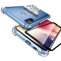 三星a8s手机套 三星 A8S手机保护壳 三星a8s手机壳套 透明硅胶全包防摔气囊保护套