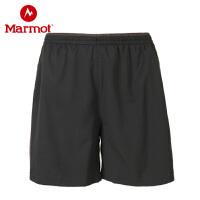 Marmot/土拨鼠户外运动防泼水弹力男士休闲透气速干短裤