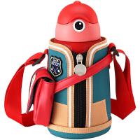 保温杯儿童带吸管两用男女宝宝水壶小学生水杯便携防摔幼儿园