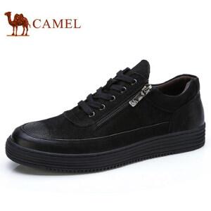 camel 骆驼男鞋轻盈时尚极限运动板鞋百搭潮流滑板日常休闲鞋