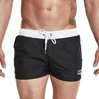 新款泳裤男平角游泳男士速干海边宽松时尚潮大码舒适温泉沙滩短裤
