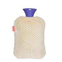 大号毛绒注水热水袋橡胶暖水袋 防爆暖手宝冲水暖手袋送绒布