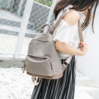 莫尔克(MERLE;)牛津帆布双肩包女背包尼龙时尚包包2018新款潮韩版个性百搭书包