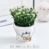 创意家居小清新仿真植物假草盆栽绿植多肉假花摆件客厅桌面装饰品