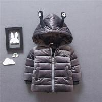 小童装外套冬装男宝宝儿童男童棉袄