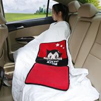 阿童木卡通汽车抱枕被两用靠垫 车用抱枕被子夏凉被 折叠空调被子
