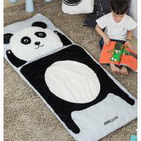 爱升高端幼儿品牌 儿童卡通睡袋 婴儿宝宝防踢被秋冬加厚纯棉毛绒睡袋
