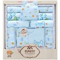 纯棉婴儿衣服礼盒母婴用品满月刚初生宝宝套装婴儿礼盒新生百搭