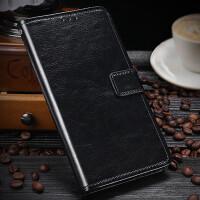 中国移动N5手机壳N5PRO翻盖皮套CMCC M761保护套M860全包壳钱包款Chi N5(别名:M761)黑色 收