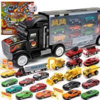 小孩合金仿真儿童玩具车模型卡车男童宝宝男孩0-1-2-3-4岁小汽车