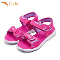 安踏女儿童沙滩鞋子2018新款女孩凉鞋夏季单鞋休闲鞋轻便32724682