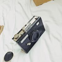 新款个性潮复古照相机包女包日韩时尚百搭小包链条单肩包斜挎包包
