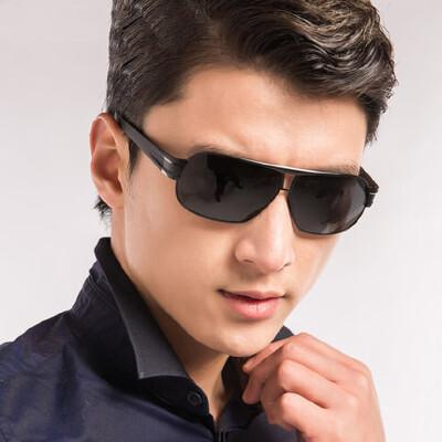 男士太阳镜铝镁司机偏光镜墨镜潮人 驾驶开车钓鱼眼镜 品质保证 售后无忧 支持货到付款