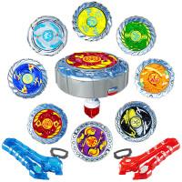 魔幻陀螺2代套装对战斗盘拉线发光焰天火龙王男孩儿童玩具
