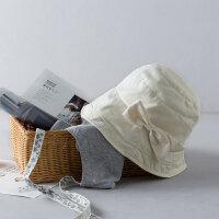 茵曼帽子女夏天韩版遮阳帽防晒凉帽可折叠太阳帽渔夫帽【1872190098】