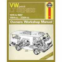 预订 VW Lt Petrol Vans & Light Trucks (76 - 87) Up To E