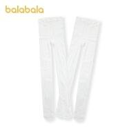 巴拉巴拉儿童袜子春季新款宝宝棉袜女童打底袜透气保暖2双装
