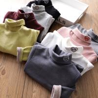 儿童纯棉打底衫秋冬宝宝长袖上衣女童