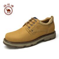 骆驼牌 新品日常户外休闲工装系带男鞋工装大头鞋舒适耐磨