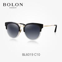 暴龙太阳镜女 2017新款上下拼色太阳镜时尚偏光太阳镜墨镜BL6019