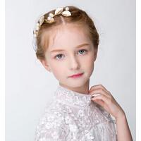 新年时尚女童花环表演发饰 儿童公主饰品花童新娘婚礼配饰头饰头箍