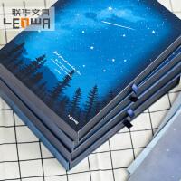 联华唯美清新星星盒装同学录创意小学生毕业纪念册韩版留言册 内含65张