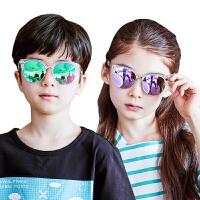 kk树夏季潮户外小孩太阳镜男女童防紫外线沙滩儿童眼镜墨镜太阳镜