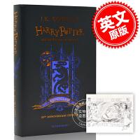 现货 哈利波特与阿兹卡班的囚徒 20周年纪念精装 英文原版 Harry Potter Azkaban-Ravencla