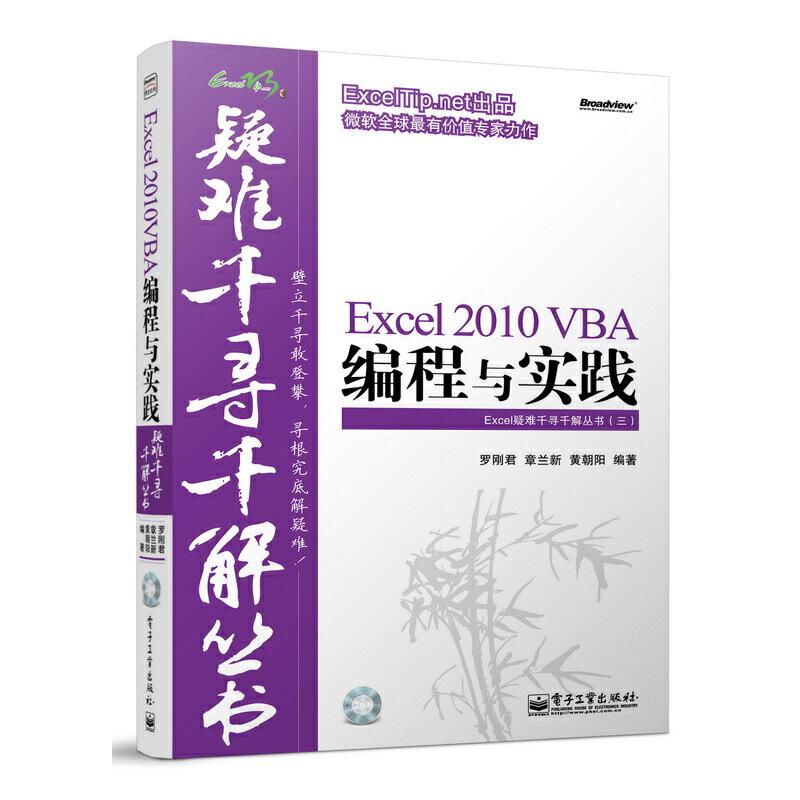 Excel 2010 VBA编程与实践(含CD光盘1张) Excel疑难千寻千解丛书,ExcelTip.net出品