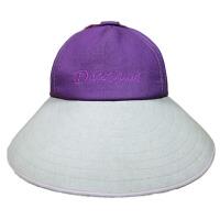 女夏天太阳帽可折叠遮阳帽大沿防晒户外沙滩帽