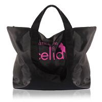 欧美尼龙包女包大包短途旅行包男女手提大容量防水拉链购物袋折叠