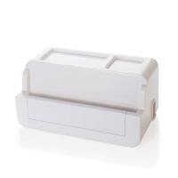 塑料插线板理线器插座电源线电线收纳盒集线器整理盒收纳器