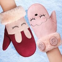 儿童手套冬3-5-7-10岁小孩儿手套儿童 女孩 男孩保暖手套冬季加厚