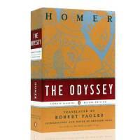 英文原版 The Odessey奥德赛 Homer盲诗人荷马 经典文学 豪华版毛边本