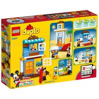 乐高积木玩具得宝系列米奇和朋友们的海滩别墅 LEGO DUPLO积木玩具10827