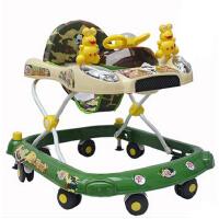 学步车防碰脚可调节婴儿童宝宝助学步车大底圈 防侧翻6/7-18个月多功能音乐折叠刹车