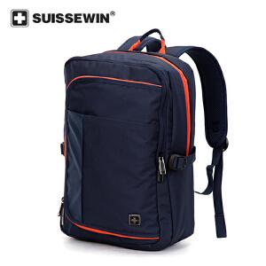 【SUISSEWIN旗舰店 支持礼品卡支付】中学生专用书包男生专用双肩包多功能运动包