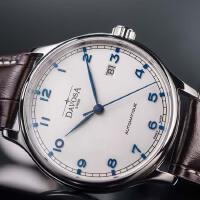 瑞士迪沃斯DAVOSA -Gentleman 绅士系列 Classic 经典之作 16145615 机械男士手表【好礼
