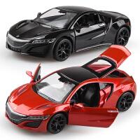 儿童玩具汽车模型本田讴歌合金小汽车模型 带声光回力男孩玩具车