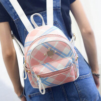 新款印花双肩包时尚潮流女包韩版时尚迷你背包简约小包包