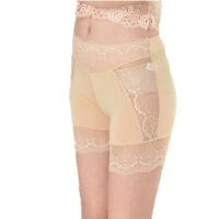 夏防走光打底裤女薄款莫代尔三分裤蕾丝花边性感短裤