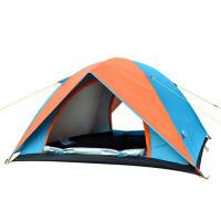 帐篷户外2人3-4人家庭野外露营折叠自驾游钓鱼帐篷