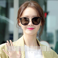 圆形墨镜女新款潮ins明星同款小脸女士时尚复古小框太阳眼镜