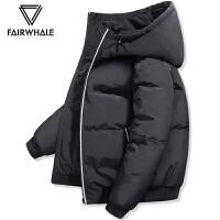 【秒杀直降 到手价448元】马克华菲男士羽绒服短款2019冬季保暖帅气青年冬装黑色新款外套