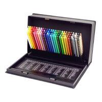 日本三菱油性彩铅 COLORED PENCIL彩色铅笔36/72/100色